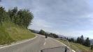Richtung Langen bei Bregenz mit Blick in die Alpen