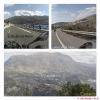 Fast eine Autobahn in die Sierra Nevada