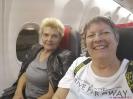 Jolanda und Gabi - Abflug nach Malaga