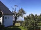 Aussicht von der Kapelle in der Nähe vom Rossbüchel Richtung Bodensee