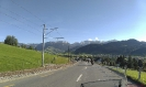 Heimfahrt in Richtung Appenzell