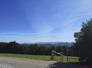 Aussicht von der Kapelle in der Nähe vom Rossbüchel Richtung Berge