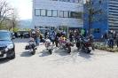 Glei mitm Motorrad do...