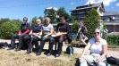 Jause am Schluchsee - Sandra, Ingrid, Jolanda, Michaela, Maggy
