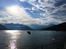 Lago Maggiore in der Abendstimmung