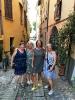 Gabi, Lilian, Sandra und Jolanda vor dem Ausgehen