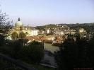 Dogliani von der Altstadt gesehen