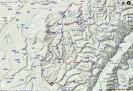 Das war die erste kleine Runde im Piemont - ca. 100km