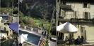Unsere Terrasse am Morgen