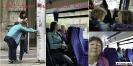 Im Bus nach Cuneo