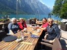 Kaffeepause - Ingrid, Jolanda, Gabriela und Brigitte