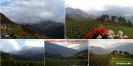 Ausblick von der Pension Huberhof in Feldthurns