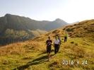 Auf dem Weg zum Gipfelkreuz
