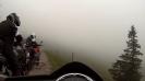 Auf dem Berg tiefster Nebel nahe Le Hohneck