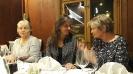 Ingrid, Michaela und Jolanda in freudiger Erwartung