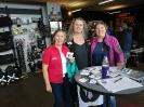 Maggy und Gabi mit Sabina Eschmann, die uns zum Women Riders World Relay eingeladen hat